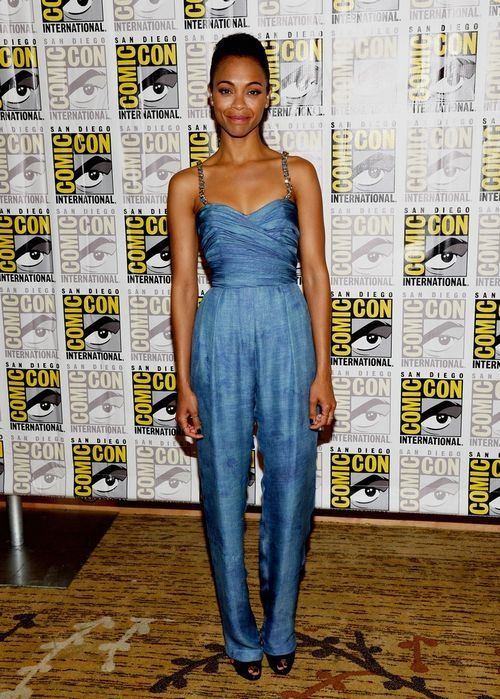 Zoe Saldana Marvel Studios Thor Dark World