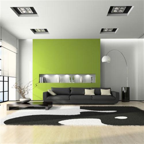 farbgestaltung 21 tipps f r harmonisch gr ne wohnr ume dekomilch. Black Bedroom Furniture Sets. Home Design Ideas