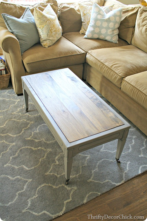 gray table wood top