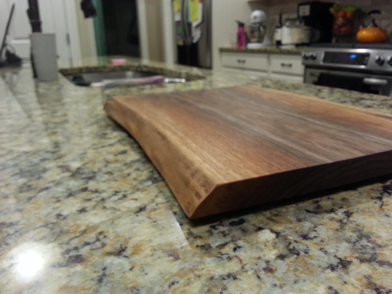 Natural Edge Cutting Board