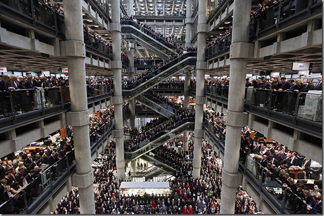 Two-minute-silence Lloyds of London
