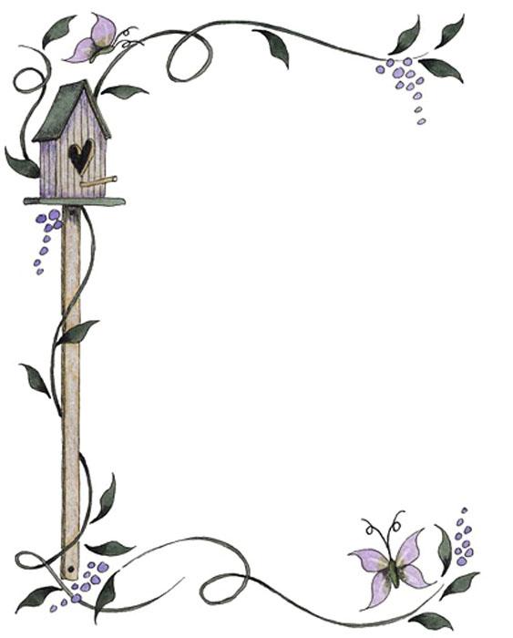 Marcos De Flores Dibujos Para Colorear