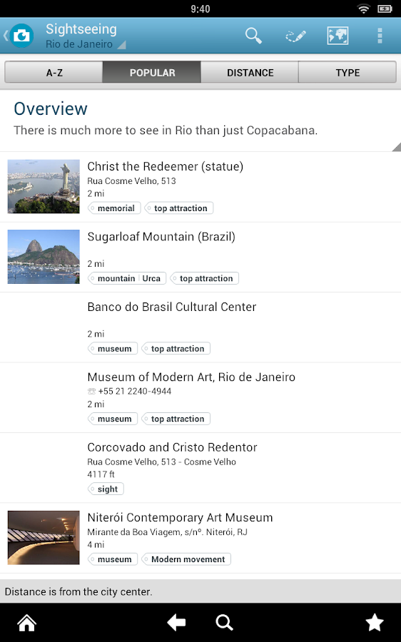 Brazil Travel Guide by Triposo- screenshot