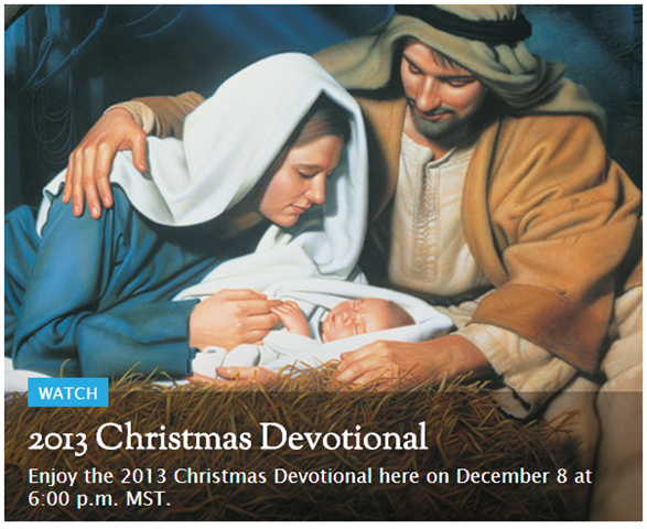 2013 Christmas Devotional
