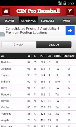 【免費運動App】Cincinnati Pro Baseball-APP點子