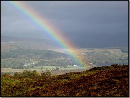 Rainbow over Bridge of Gaur