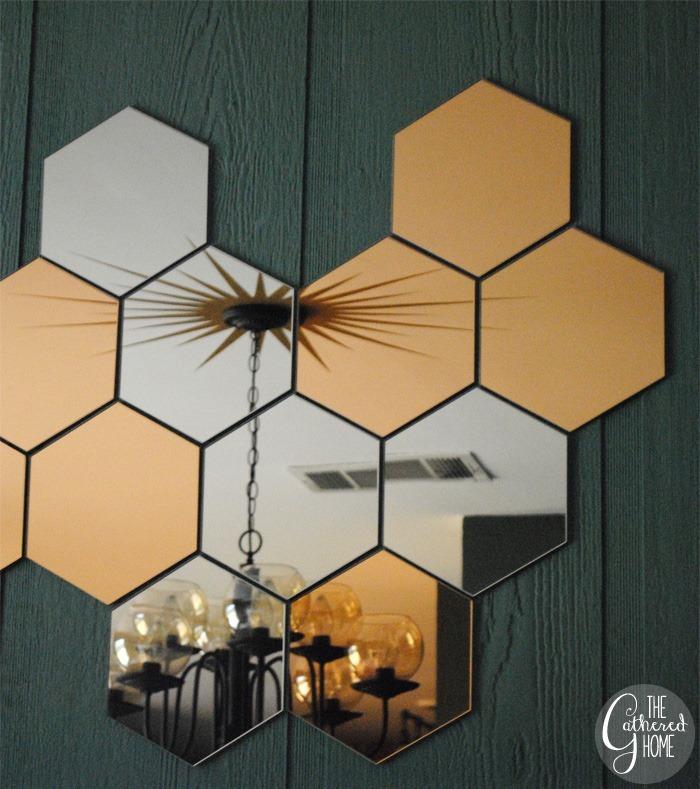 Dining Room Midcentury Chandelier Honefoss Mirrors 24