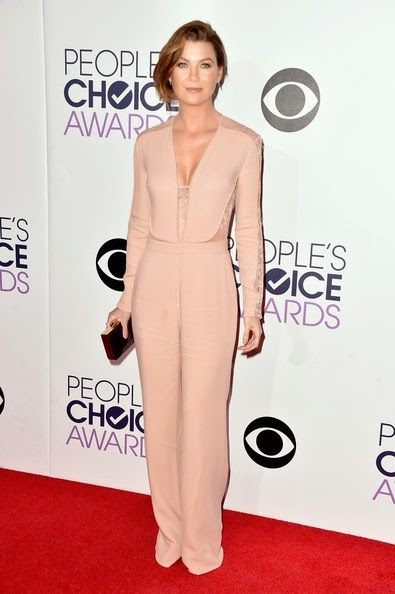 Ellen Pompeo attends The 41st Annual People's Choice Awards