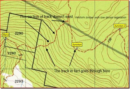 Dromedary Map track