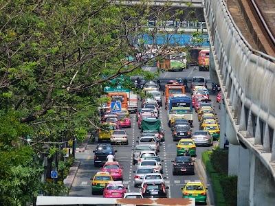 Trafic in Bangkok