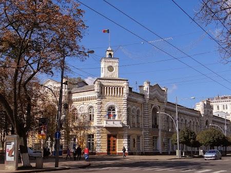 Obiective turistice Chisinau: Primaria Chisinau