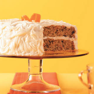 Carrot-Spice Cake with Caramel Frosting Recipe.