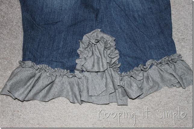 jean skirt refashion (3)
