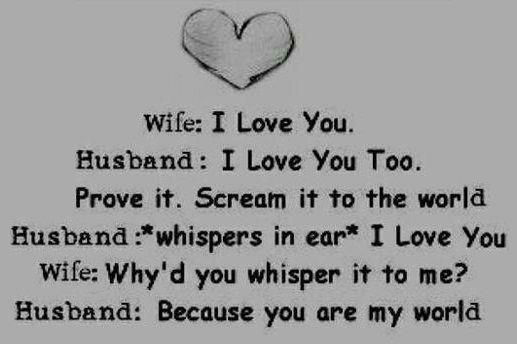I Love My Wife Quotes funny husband and wife quotes   Quotes links I Love My Wife Quotes