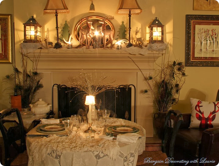 Tablescape in Winter