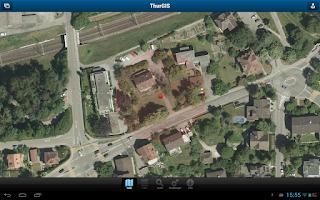 Screenshot of ThurGIS