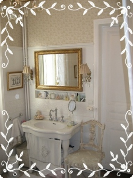 Shabby and Charme: Shabby Chic on Friday - Idee per un bagno very shabby!