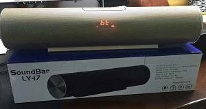 Loa Bluetooth, Đọc Thẻ Nhớ, USB LY-17 - Âm Thanh Cực Hay