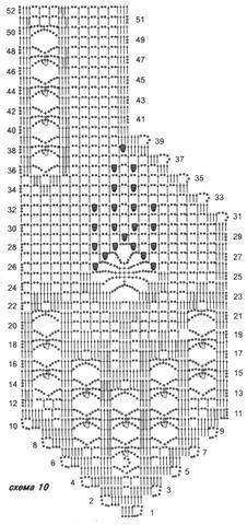 chaleco dibujos crochet patron3