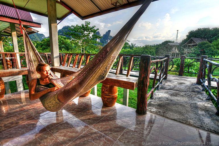 Vera hammock Khao Sok National Park