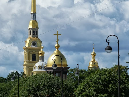 Obiective turistice St. Petersburg: Catedrala St. Petru si Pavel