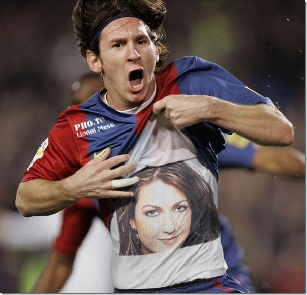 generador Fotomontaje con Messi y tu foto
