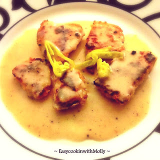 Chicken in Lemon Garlic White Wine Sauce Recipe
