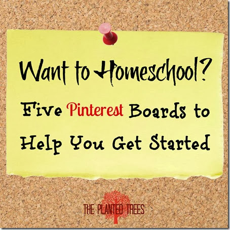 Homeschool Beginner Pinterest Boards