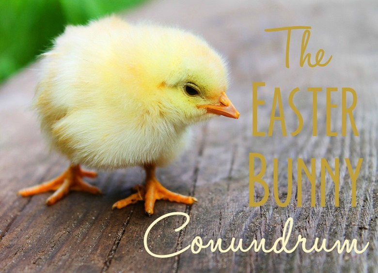 How we're choosing to go about dealing with the Easter Bunny (and Santa, the Tooth Fairy, etc) as Christian parents