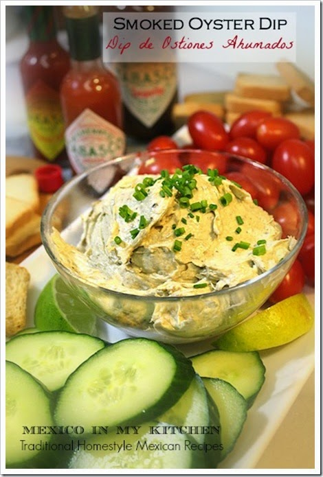 Smoked Oyster Dip | Holiday Party Recipe
