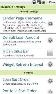 Kivadroid: Kiva on your Droid!- screenshot thumbnail