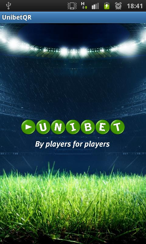 Unibet Barcode Scanner - screenshot