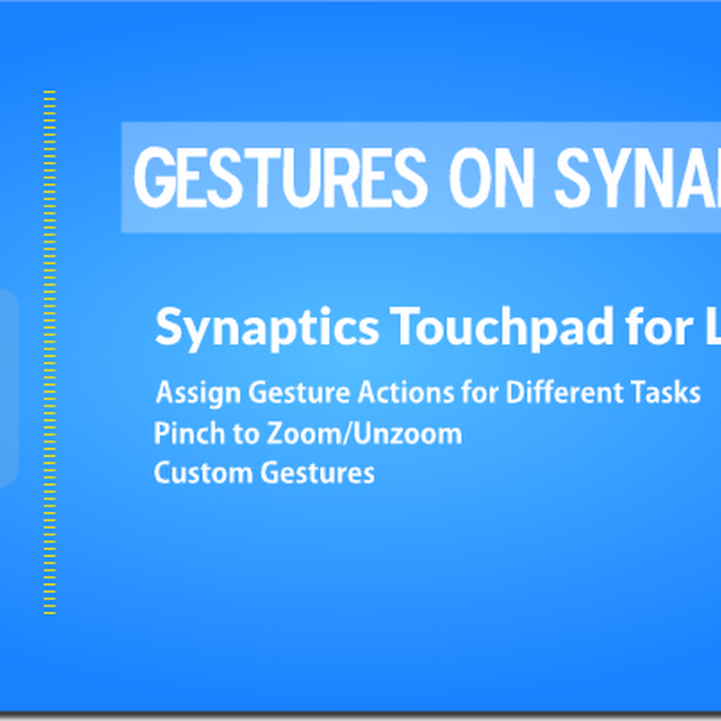Synaptics Touchpad for Laptops Gesture Controls(Pinch to
