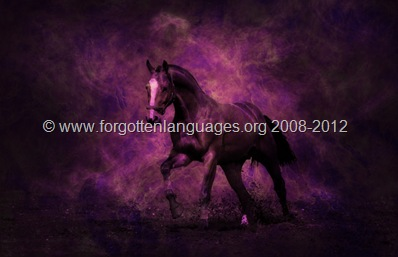 Horse from Edom - © niriden.forgottenlanguages.org