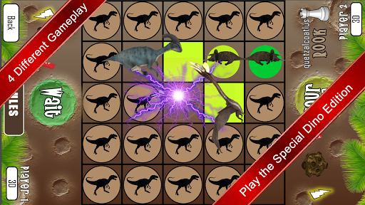 لالروبوت Checkonaut Dino Chess ألعاب screenshot