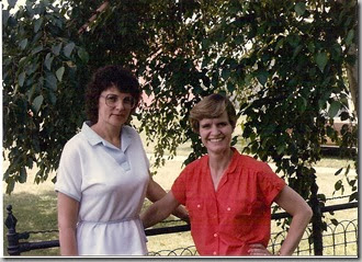 Gayle and Norma 1984