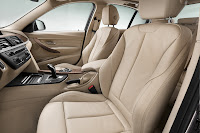 New BMW 3 Series: Front seats Modern Line (10/2011)