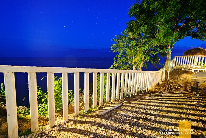 Blue Evening at Boho Rock at Camotes Island