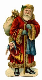 christmas santa vintage image graphicsfairy b