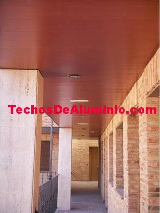 Techos aluminio Colmenar Viejo
