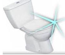 sparkling toilet