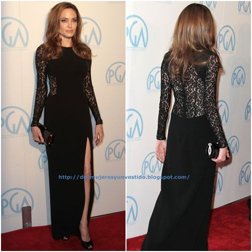 Angelina Jolie attends the 23rd Annual Producers Guild Awards2