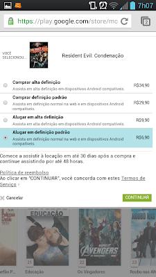 Google Play agora aluga e vende filmes e livros no Brasil 2