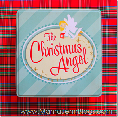 The Christmas Angel Tin Storage Box