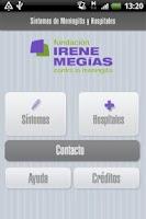 Screenshot of Síntomas Meningitis