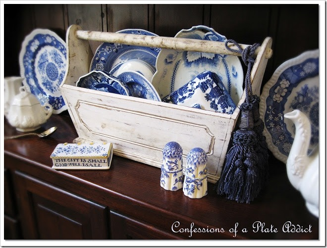CONFESSIONS OF A PLATE ADDICT Shabby Tool Box