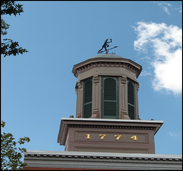 Old Town Alexandria Firehouse Weather vane