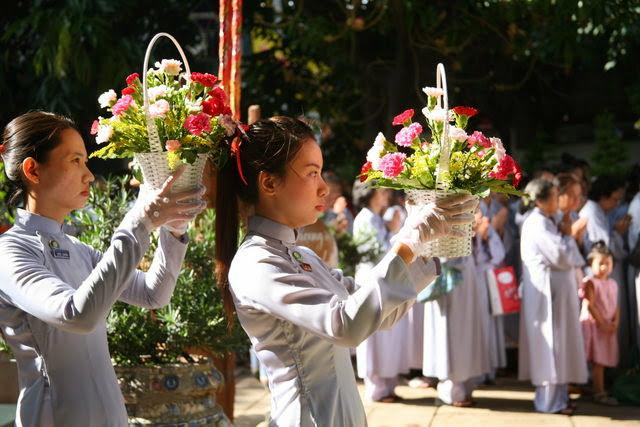 IMG 1776 Đại lễ Phật đản PL 2557 tại Tu viện Quảng Hương Già Lam