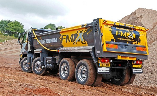 Camion Volvo FMX 2011