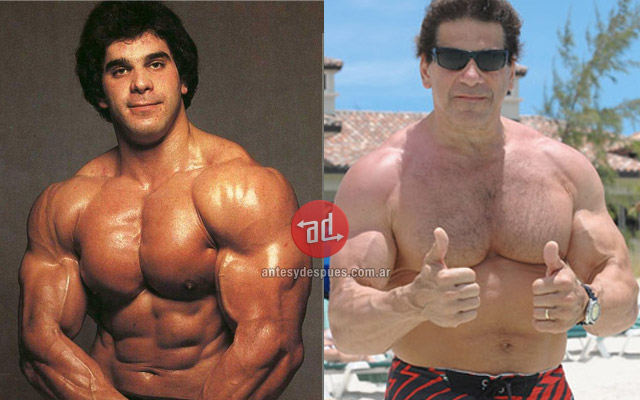 Lou Ferrigno before and after
